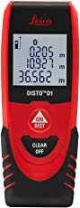 Leica Geosystems D1 40m Laser Distance Meter (Red and Black)