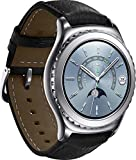 Samsung SM-R7320WDADBT Gear S2Classic Smartwatch, NFC, Memoria RAM da 512 MB, Solo Bluetooth, Argento
