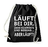 TRVPPY Turnbeutel mit Spruch/viele verschiedene Sprüche & Designs/Beutel Rucksack Jutebeutel Sportbeutel Fashion Hipster
