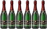 Rotkäppchen Sekt Flaschengärung Riesling trocken 6er Set (6 x 0,75l) – Premiumsekt deutscher Weine – perfekt zum Anstoßen/besondere Momente/Geburtstage/ als Geschenk/Mitbringsel