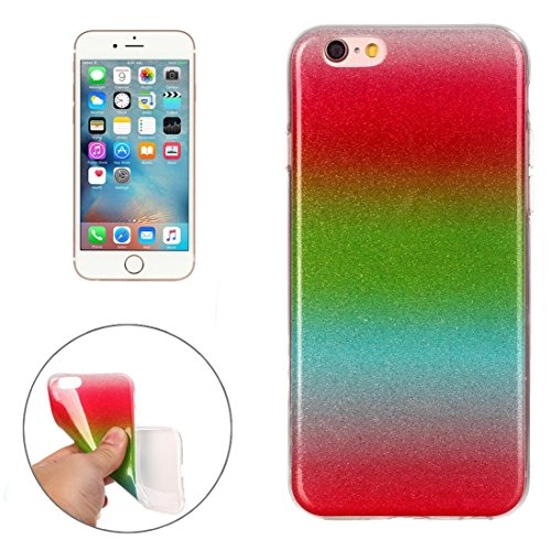 BING Für iPhone 6 Plus / 6s Plus, IMD Color Fades Glitter Powder TPU Schutzhülle BING ( SKU : IP6P8855D ) IP6P8855L