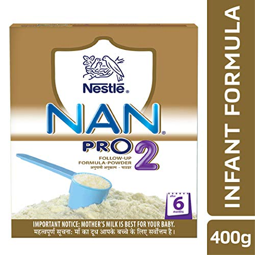 Nestle NAN PRO 2 Follow up Infant Formula (after 6 Months) - 400 g