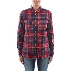 Tommy Hilfiger WW0WW19728 Camisas Mujer Rojo M