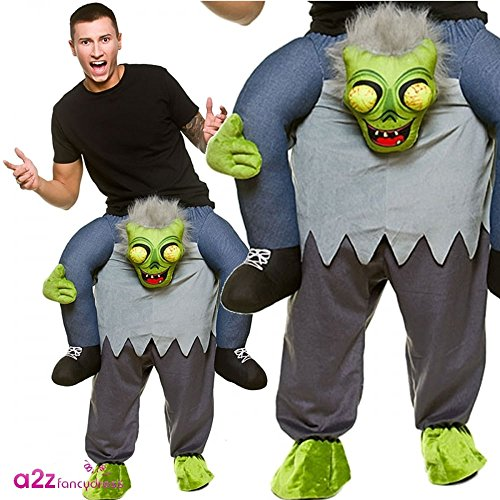 Carry Me® Zombie Erwachsene Kostüm One Size Fancy Dress Kostüm