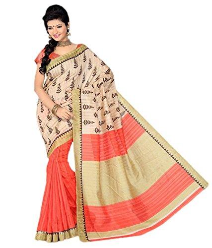 Jhalak Fashion Bhagalpuri Cotton Silk Saree