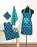 Swayam Grillz Printed Cotton 6 Piece Kit...