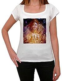 Devi T-shirt Femme,Blanc, t shirt femme,cadeau