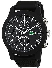 Lacoste Herren-Armbanduhr Analog Quarz Silikon 2010821