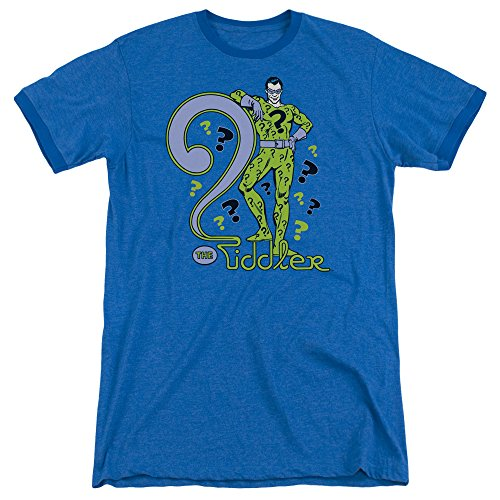 DC Comics Herren T-Shirt Königsblau