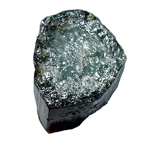 Turmalin grün Verdelith Roh Stein Roh Stück Natur und unbehandelt roh Größe: M - ca. 15-18 mm ca. 30-40 Carat.(4137)
