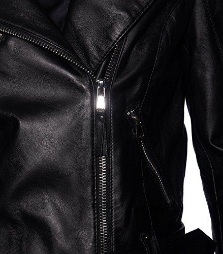 BE EDGY Damen Lederjacke Gipsy Bikerjacke Jacke Leder – Leder - 4