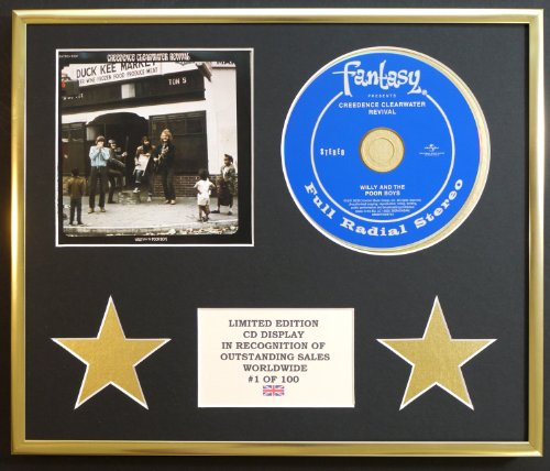 CREEDENCE CLEARWATER REVIVAL/CD-Darstellung/Limitierte Edition/WILLY AND THE POOR BOYS