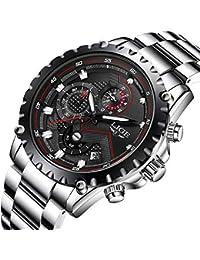 Reloj deportivo impermeable para hombre, de la marca de lujo LIGE, negocios, moda