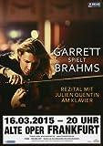 David Garrett - Explosive 2015 - Konzertplakat, Konzertposter