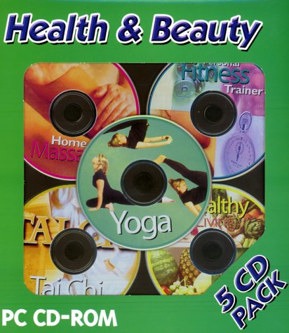 Health & Beauty 5 CD Pack (Yoga, Healthy Living, Fitness Trainer, Home Massage, Tai Chi) [Import]