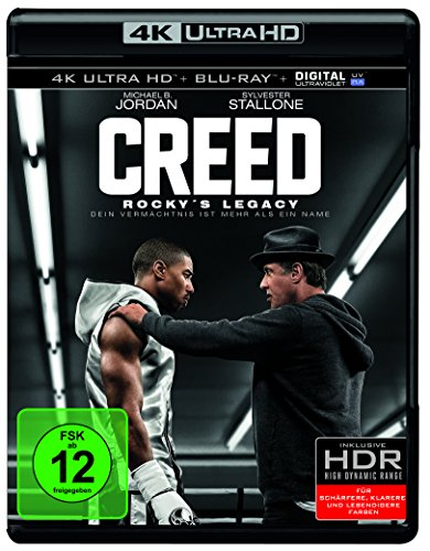 Creed: Rocky's Legacy - Ultra HD Blu-ray [4k + Blu-ray Disc]