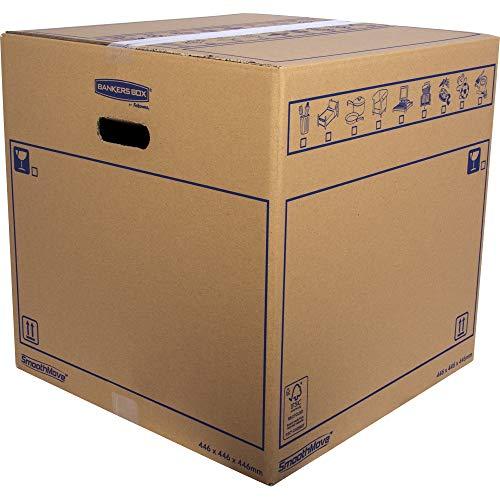 Bankers Box 6207401 - Caja de transporte y mudanza, tamaño grande
