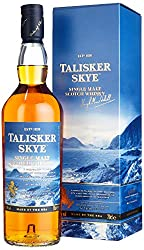 Talisker Skye Single Malt Scotch Whisky - Weicher und rauchig-würziger Single Malt Whisky aus dem Norden Schottlands - In maritimer Geschenkbox - 1 x 0,7l