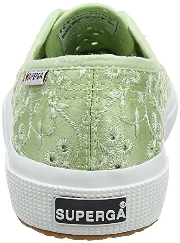 Superga Unisex-Erwachsene 2750 SANGALLOSATINW Sneaker Green (Green Mint)