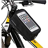 BestFire Cycling Bike Bicycle Handlebar Frame Pannier Front Top Tube Bag Pack Rack X Large Waterproof for Iphone 6/6s/6 Plus/6S Plus Samsung 4.8 5.5 Inch Mobile Cell Phone
