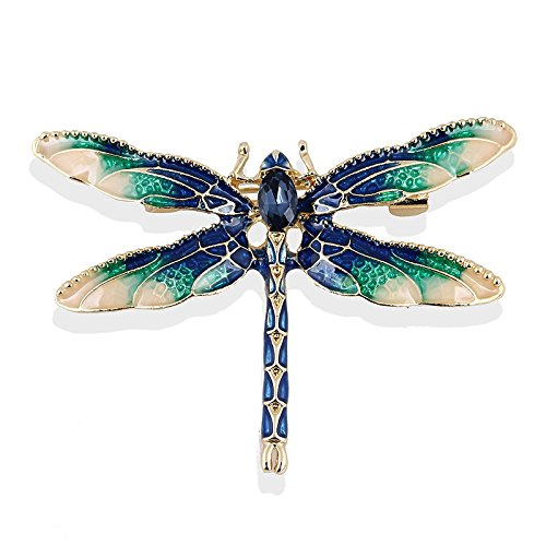 TOOGOO Dragonfly Brooches for Wo...