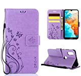 XINKO Huawei Y6 2019 Case, PU Leather Wallet case Stand