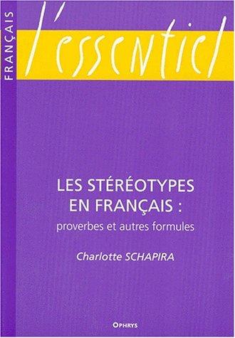 Les stéréotypes en français