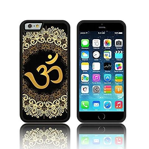 Coque ' Or Om mandala ' Étui Housse Apple iPHONE