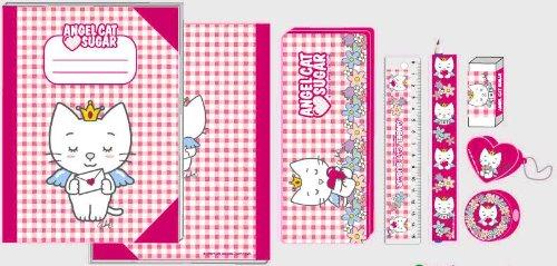 angel-cat-sugar-set-di-cartoleria-7-pezzi