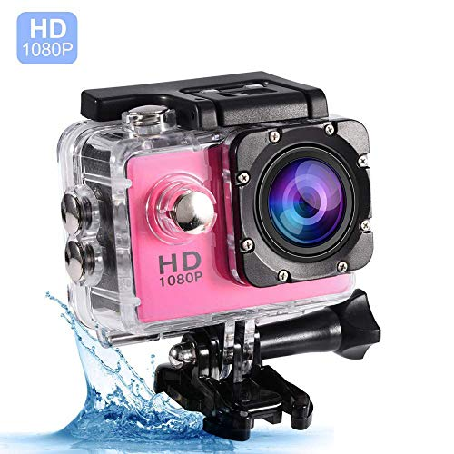 Caracteristicas: Esta cámara deportiva mini DV adopta material de ABS calificado. Tarjetas de almacenamiento con soporte de cámara de hasta 32 GB como máximo La pantalla de alta definición de 2,0 pulgadas, pequeña y exquisita, le brinda un claro disf...