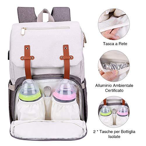 Zoom IMG-3 canway zaino mamma muitifunzione neonato