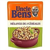 UNCLE BEN'S Mélange de 5 céréales - Express 2 min au micro-onde ou à la poêle - 220 g
