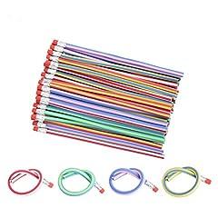 Idea Regalo - 60pezzi Gudotra Matita Flessibile Colori Misti di Gomma Soffice come Regalini di Compleanno per Bambini
