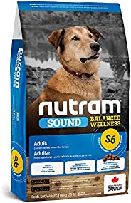 Nutram S6 Sound Balanced Wellness Adult Dog Food, 11.4kg