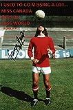 George Best quote fotografia firmato edizione limitata + stampato Autograph