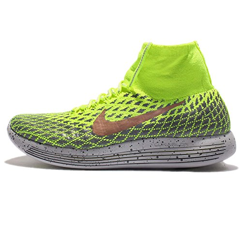 Nike Lunarepic Flyknit Shield Gelb - 44/5 (High-top Flyknit)
