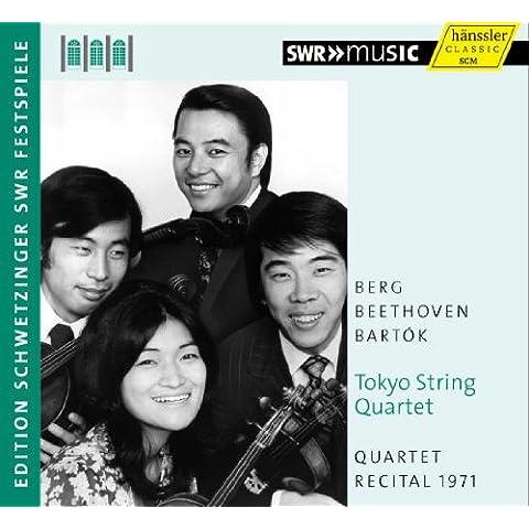 Tokyo String Quartet: Quartet Recital 1971