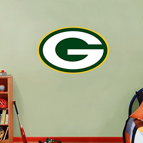 Green Bay Packers NFL Football Home Decor Art Wall Vinyl Sticker 63 x 40 cm (Decor Home Green Packers Bay)