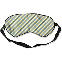 Comfortable Sleep Eyes Masks Stripes Pattern Sleeping Mask For Travelling, Night Noon Nap, Mediation Or Yoga preisvergleich bei billige-tabletten.eu