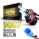 9007 BiXenon 6000K Lightning Blue Opt7 Bolt Ac 9007 BiXenon Replacement Hi