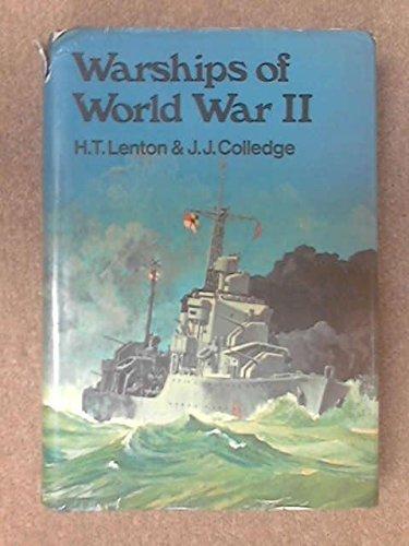 Warships of World War II by H.T. Lenton (1973-01-06)