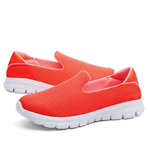Greaten , Mocassins pour femme Orange