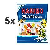 Haribo Milchbären 5er Set (5x175g Tüte)