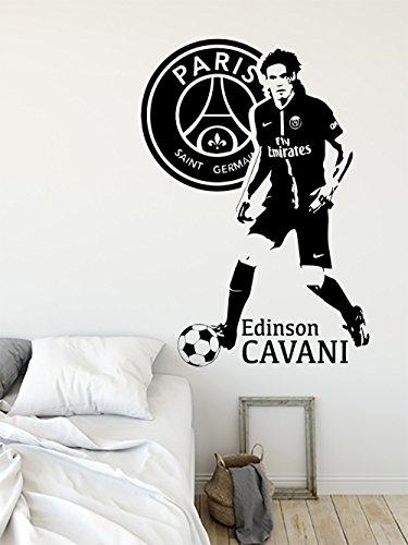 Edinson Cavani Paris Saint Germain Psg Grand Sticker Autocollant