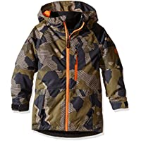 Bambini Giacca da snowboard 686Jinx Insulated giacca da ragazzo, olive geo camo, M