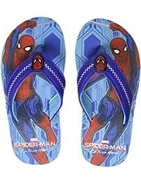 Spiderman by Kidsville Sky Blue Boys Flipflops Flip-Flops