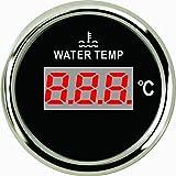 Jauge de température de l'eau numérique Mètre 40–120℃ 5,1cm (52mm) 9–32V avec rétroéclairage