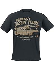 Breaking Bad Heisenberg Desert Tours T-shirt noir