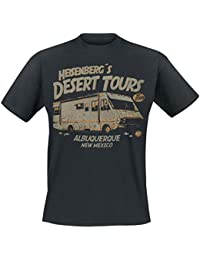 Breaking Bad Heisenberg Desert Tours T-shirt noir