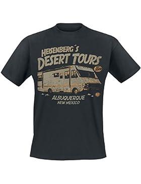 Breaking Bad Heisenberg Desert Tours T-Shirt schwarz